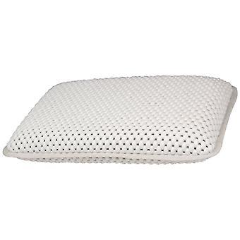 Almohada de soporte de cabeza de cuello de baño impermeable cómodo con ventosas de secado rápido