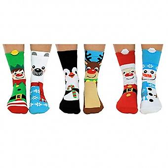United Oddsocks Santa's Squad Socks