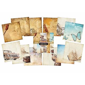 Vintage Memories - Mixed Media Paper Pad - 6x6