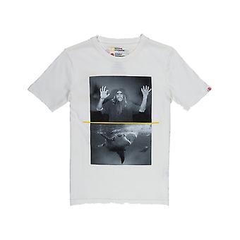 エレメントシャークフレッチャー半袖Tシャツオフホワイト