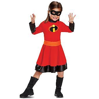 Viola Disney Pixar Gli Incredibili 2 Superhero Libro Settimana Ragazze Costume S
