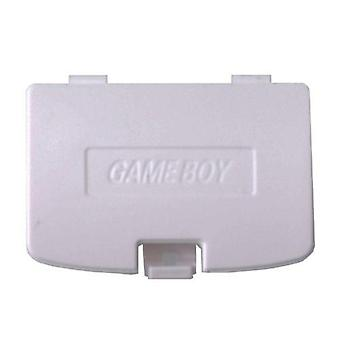 Replacement battery cover door for nintendo game boy color - white