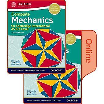 Mechanica voor Cambridge International AS & A Level: Print & online student boek Pack
