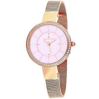 Christian Van Sant Women's Reign Pink Dial Watch - CV0223