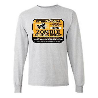 """""""Permesso internazionale di caccia agli zombi"""" T-Shirt"""