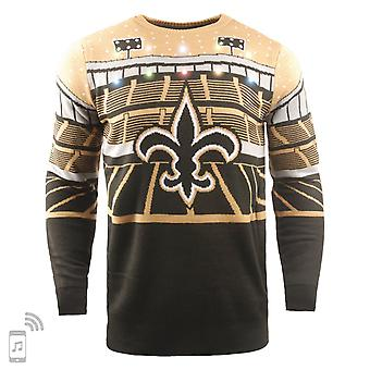 NFL Ugly Sweater XMAS LED Pullover - New Orleans Saints