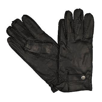 GANTS LLOYD Gants Hommes Cuir de chèvre, Vintage, Main Stitched Black 8366