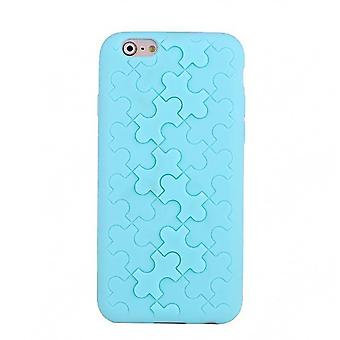 Shell Silicone Motif Puzzle Turquoise IPhone 6 4.7