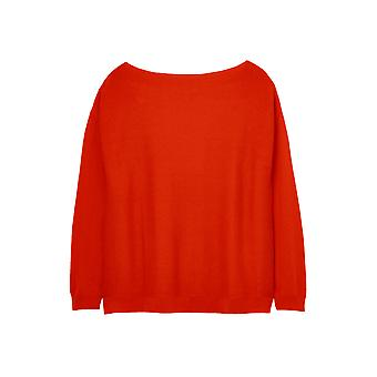 Joules Bess Womens Jumper With Side Seam Rib - Red