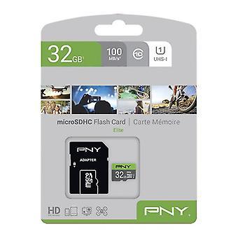 SDHC-minneskort PNY Elite 32 GB Svart