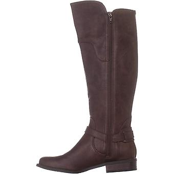 Guess Womens Harson5 Closed Toe Knee High Fashion Boots