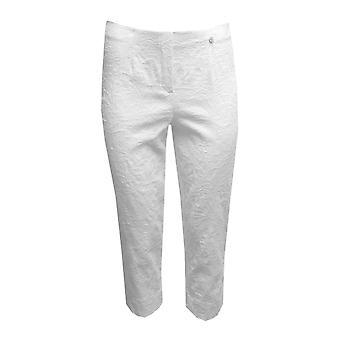 ROBELL Robell White Trouser Marie 51576 54401 10