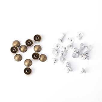 Pyramid Shaped Silver Studs with Base Pin