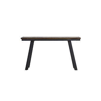 Mesa lateral leve e viva 160x40x80cm Corti Wood-Grey