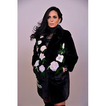 Manteau Noir Sam-rone Femme D61322