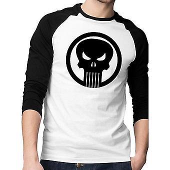 Marvel Punisher - Logo Baseball T-Shirt