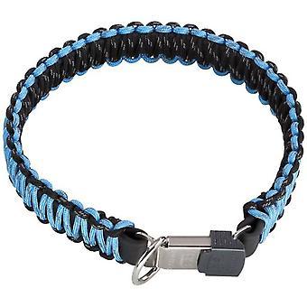 HS Sprenger Lock Collar Blue Hs Paratrooper Close