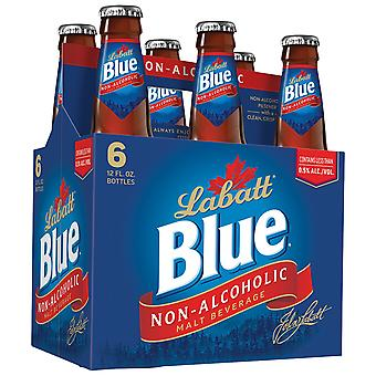 Labatt Blue Non Alcohol Beer Btls-( 341 Ml X 6 Bottles )