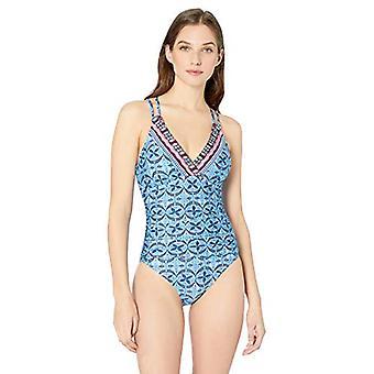 La Blanca Women's Underwire Double Strappy Back One, The Realist, Size 12.0