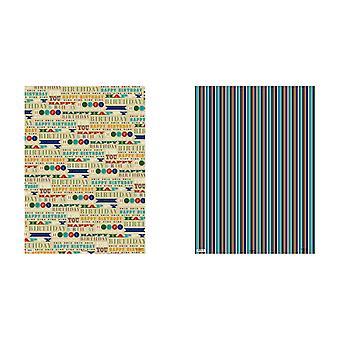Simon Elvin 24 fiches cadeau masculin Designer Wraps