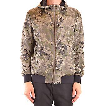 Herno Ezbc034045 Men's Multicolor Nylon Outerwear Jacket