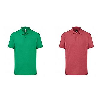 Fruit of the Loom Childrens/Kids Poly/Cotton Pique Polo Shirt
