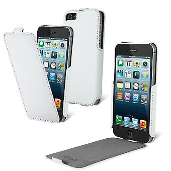 Muvit Snow Slim Case iPhone 5 / 5S, White