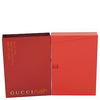 Gucci Rush Eau De Toilette Spray door Gucci 1 oz Eau De Toilette Spray