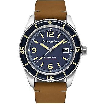 Spinnaker SP-5055-05 Gent's Fleuss Brown Strap Wristwatch