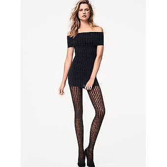 Wolford Stripes Animal Print Tights - Hosiery Outlet