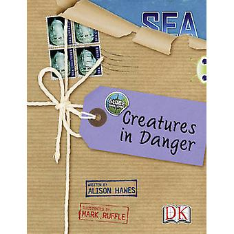 Bug Club NF Blue KS2 A4B Globe Challenge Creatures in Danger by Alison Hawes
