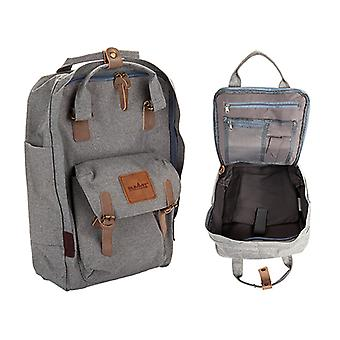 Top 22L Commuter Tas met laptop compartiment grijs