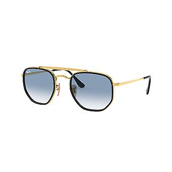 Ray-Ban The Marshal II RB3648M 91673F Gold/Blau Sonnenbrille
