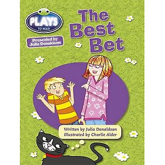Julia Donaldson Plays Best Bet (turquoise) (BUG CLUB)