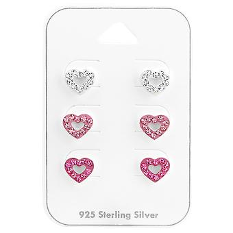 Hart - 925 Sterling Zilver Sets - W38079x