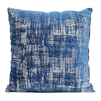 Elegant snowflake bronzing velvet pillowcase Polyester square pillowcase for sofa and bed 45x45cm