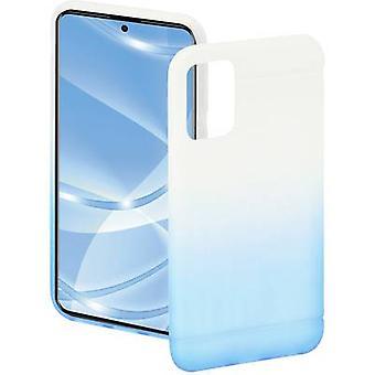האמה כיסוי צבעוני Samsung Galaxy A51 שקוף, כחול