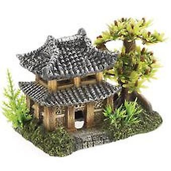 Classic For Pets Pagoda & Plants 165mm (Peces , Decoración , Adornos)
