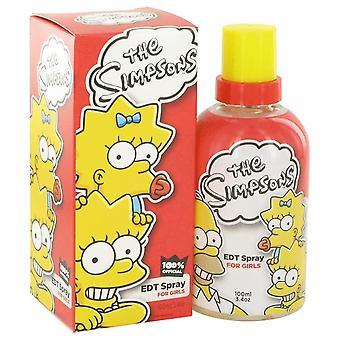 The Simpsons Eau De Toilette Spray By Air Val International 3.4 oz Eau De Toilette Spray
