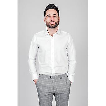 Marc Darcy ROSSI Long Sleeve Shirt - White