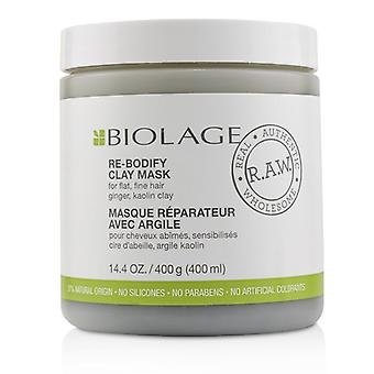 Matrix Biolage R.A.W. Re-Bodify Clay Mask (For Flat, Fine Hair) 400ml/14.4oz