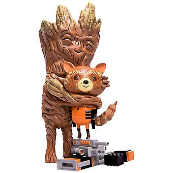Guardians of Galaxy Rocket & Groot Treehugger 9