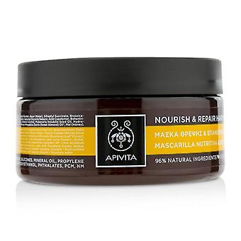 Apivita Nourish & Repair Hair Mask with Olive & Honey (For Dry-Damaged Hair) 200ml/6.81oz