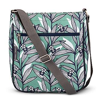 Nicky James Wildflower Green Large Crossbody Bag