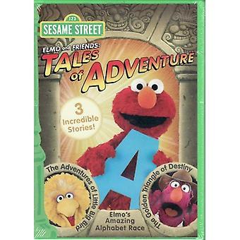Sesame Street - Elmo & Friends: Tales of Adventure [DVD] USA import