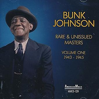 1943-1945 [CD] 米国がインポート寝台ジョンソン - 希少・未発行のマスターズ第 1 巻