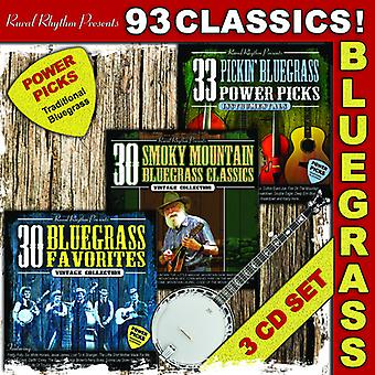 93 Classics ! Bluegrass - Power Picks [CD] USA import