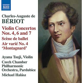 Brriot / Tsuji - Beriot: Violin Concertos 4 6 & 7 [CD] USA import
