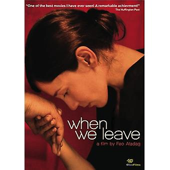 When We Leave [DVD] USA import