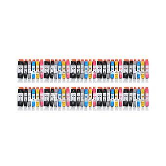 """روديتوس 10 × الاستبدال لكانون PGI-525 + CLI-526 """"الحبر وحدة الأسود سماوي ماجنتا الأصفر الضوء السماوي & الضوء الأرجواني متوافقة"""" مع Pixma iX6500، iX6550، MX715، MX882، MX885، MX895، iP4800، iP4850، iP490"""